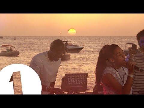 (Video) Black Coffee & Jorja Smith Perform Get It Together At Ibiza Sunset 2017 Radio 1