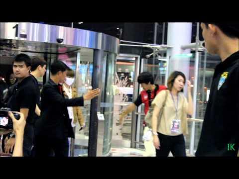 130316 Suvarnabhumi Airport INFINITE,Suzy Miss A,SHINEE,A-JAX,MBLAQ,BEAST,B.A.P