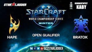 2019 WCS Winter Open Qualifier 2 Match 1: HaPe (P) vs BratOK (T)
