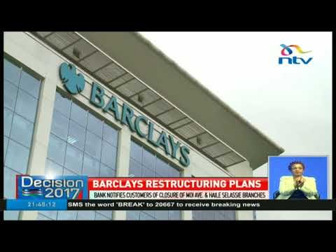 Barclays Bank notifies customers of closure of Moi avenue and Haile Selassie branches