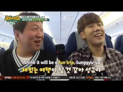 Kim Sunggyu - Carefree Travelers cut (Eng Sub)