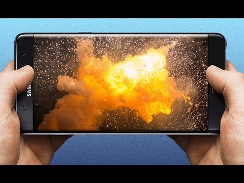 Samsung Discontinues Explosive Galaxy Note 7 PERMANENTLY