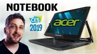 Notebook Acer 2019 Lançamentos e destaques da Feira CES Gamer e Slim