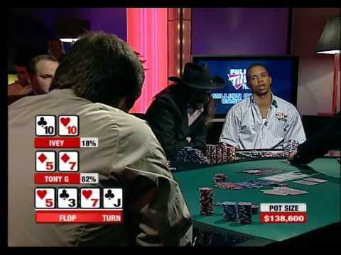 $233,000 Pot  Tony G versus Phil Ivey