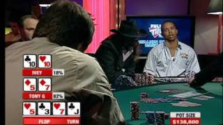 $233,000 Pot - Tony G versus Phil Ivey