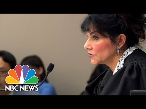 Judge Rosemarie Aquilina Full Remarks to Larry Nassar | NBC News