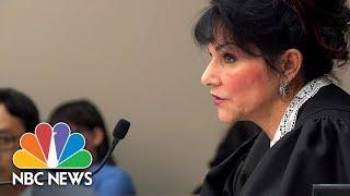 Judge Rosemarie Aquilina Full Remarks to Larry Nassar | NBC News