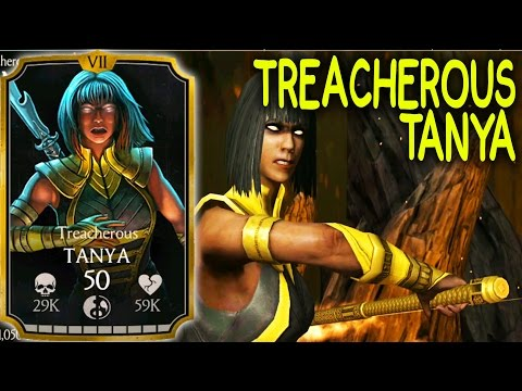 TREACHEROUS TANYA. MKX Mobile 1.13 Update. Review + Gameplay. BETTER THAN GOOD OLD TANYA???