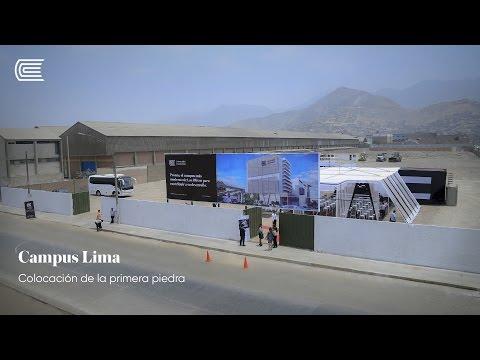 Presentación de campus de la Universidad Continental en Lima