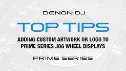 Adding Custom Artwork/Logo to Prime Series Jog Wheel Display
