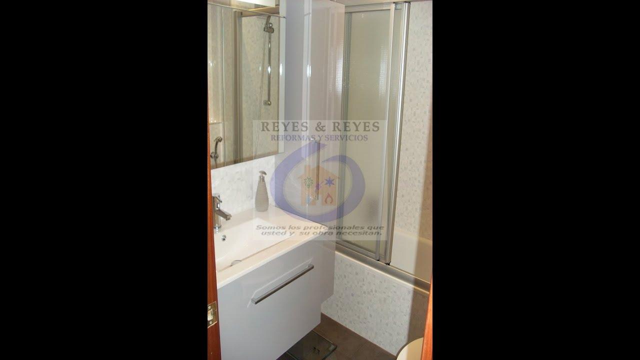 Muebles Para Baño Wc:Reforma integral de baño con lavabo y wc suspendidos – reformasreyes