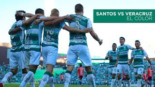 embeded bvideo Santos vs Veracruz | Color