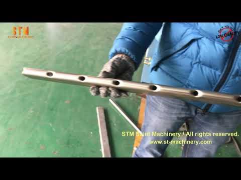 Customized tube hole punching machine end forming machine notching machine