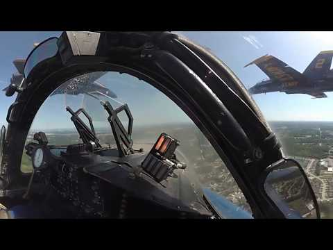 Blue Angels Diamond Takeoff – 360 Degree Video