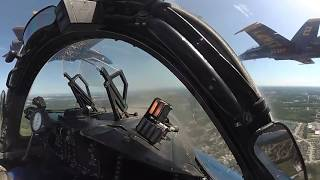 Blue Angels Diamond Takeoff - 360 Degree Video
