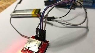 SIM800L GPRS HTTP POST Request mit dem Arduino