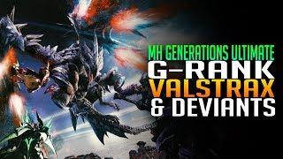 G-Rank Valstrax & Devitans - Monster Hunter Generations Ultimate Gameplay