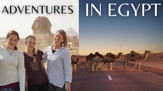 Egypt Travel | Intentional Living | Weekly Vlog | Digital Nomads | Slow Living | Great Sphinx