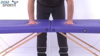 Видео о Массажный стол Art Of Choice Teo Purple