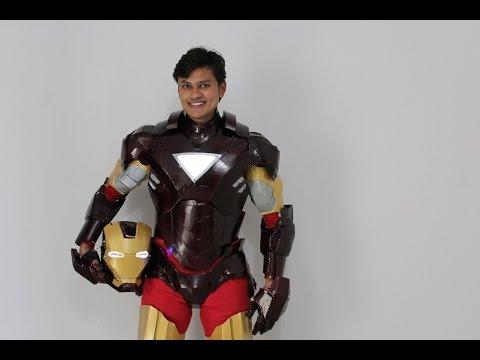 Iron man Suit Mark 6 ( MK - 6 ) EVA Foam