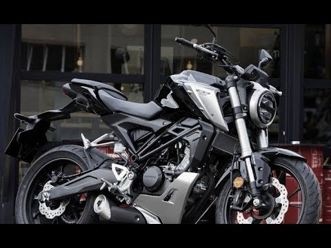 all new 2018 honda cb 125 r launch in eicma 2017 091117. Black Bedroom Furniture Sets. Home Design Ideas