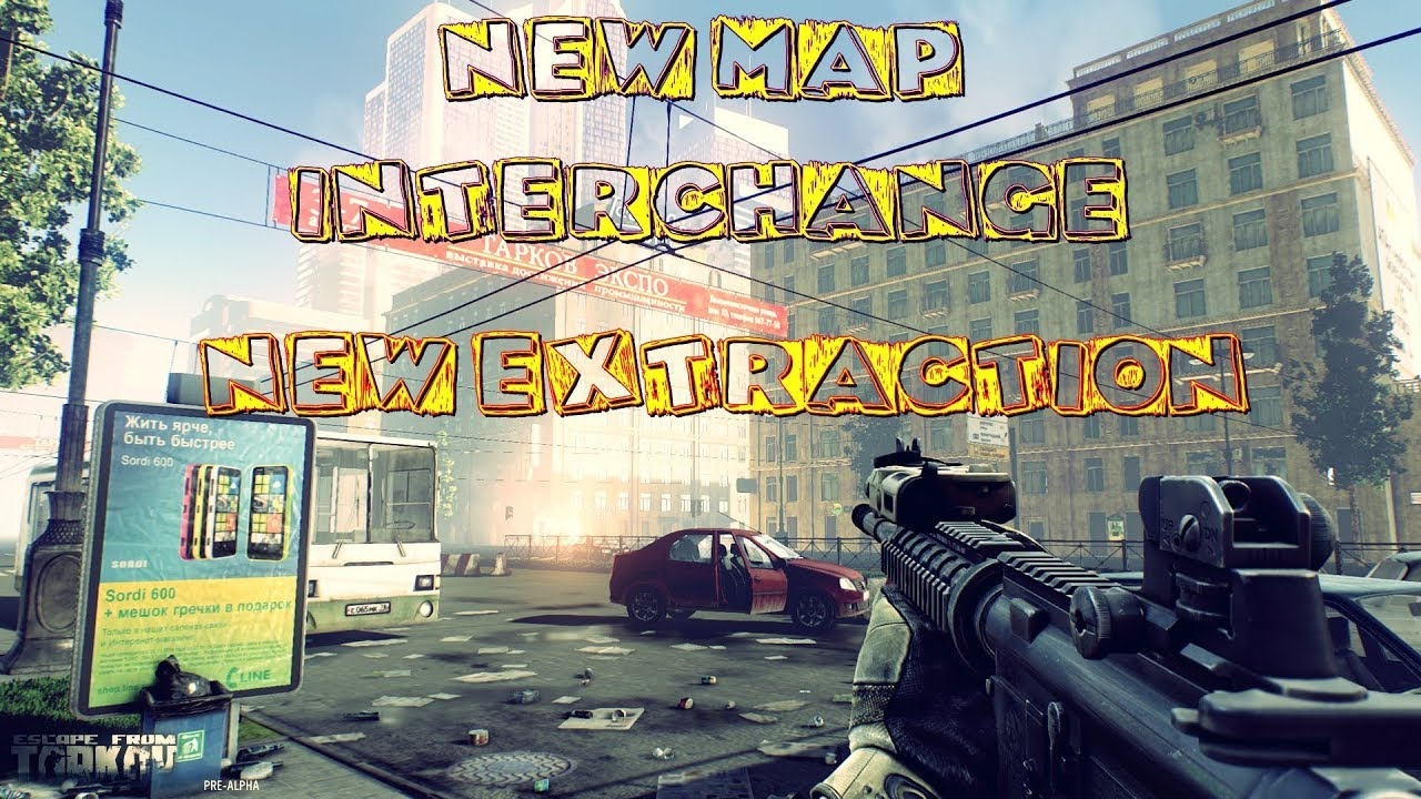 Escape From Tarkov   Interchange Extraction Video - North West Exfil -