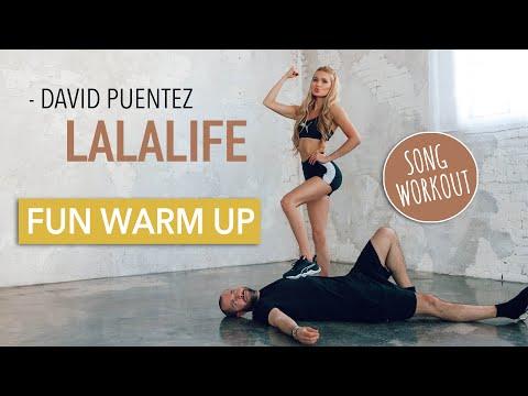LaLaLife – David Puentez // FUN FULL BODY WARM UP / No Equipment I Pamela Reif