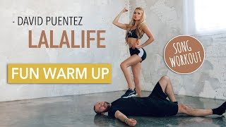 LaLaLife - David Puentez // FUN FULL BODY WARM UP / No Equipment I Pamela Reif