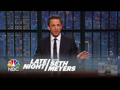 Seth's Story: Tim Gunn Is the Nicest Man in the World - Late Night with Seth Meyers