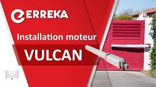 Moteur hydraulique pour portails battants VULCAN