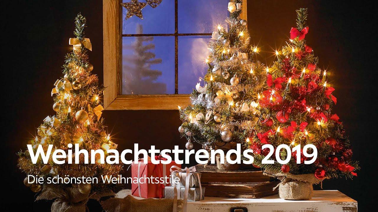 Weihnachtstrends 2019