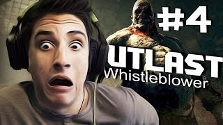 Outlast Whistleblower Прохождение - (4 Часть) КРИС СОСНУЛ