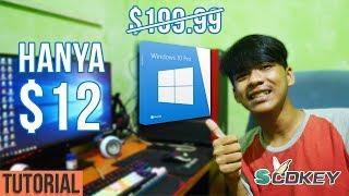 KEY WINDOWS 10 PRO CUMA $12!!! [ Tutorial Membeli & Aktivasi nya! ]