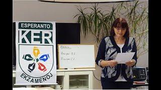 #mondafest2020 Klerige: KER-ekzamenoj – kun Katalin