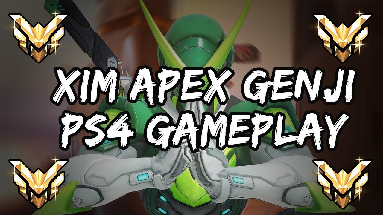 Genji Gameplay Highlight on XIM APEX PS4 Masters