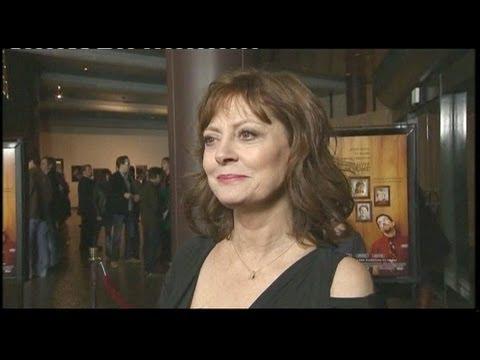 Susan Sarandon on Jason Segel and Ed Helms