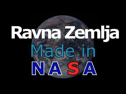 Iza Ravne Zemlje stoji NASA