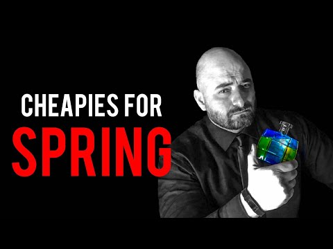 10 CHEAP AND HIGH QUALITY SMELLING MEN'S FRAGRANCES COLOGNES FOR SPRING | FRAGRANCE PERFUME REVIEW