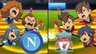 [Full HD 1080P] Inazuma Eleven UCL ~ Napoli vs Liverpool ※Pokemon Anchor※