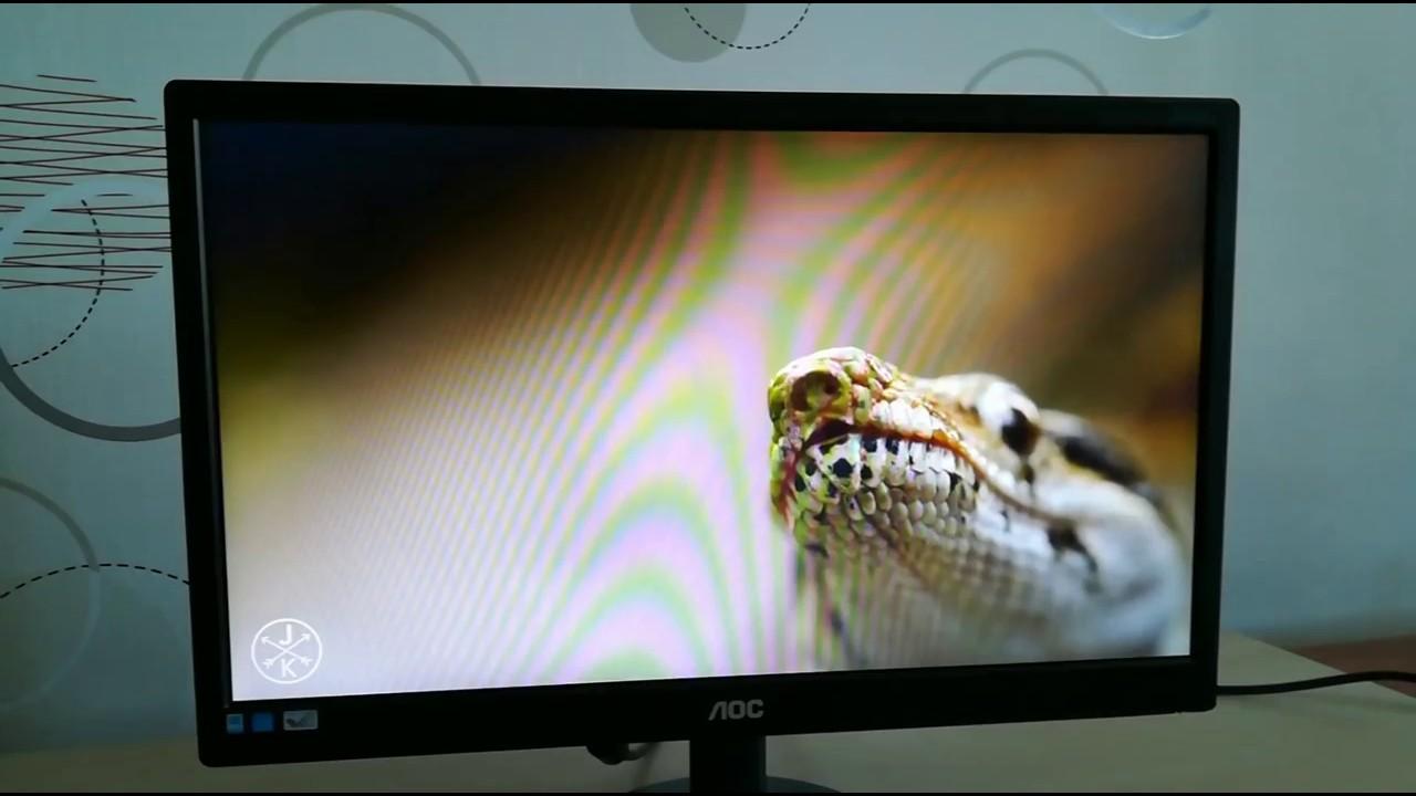AOC E970Swn LED LCD Monitor - YouTube