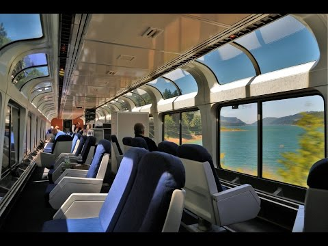 Amtrak Coast Starlight In A Sleeper Car Bedroom Youtube