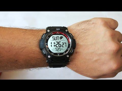 Обзор часов Q&Q | Наручные часы Q&Q - обзор и инструкция по настройке.