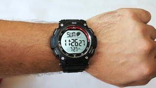 Обзор часов Q&Q | Наручные часы Q&Q - обзор и инструкция по настройке.(В видео представлен обзор наручных часов Q&Q модель М119J004Y. Данные часы Q&Q это бюджетный вариант и рассчитаны..., 2014-07-27T13:20:33.000Z)