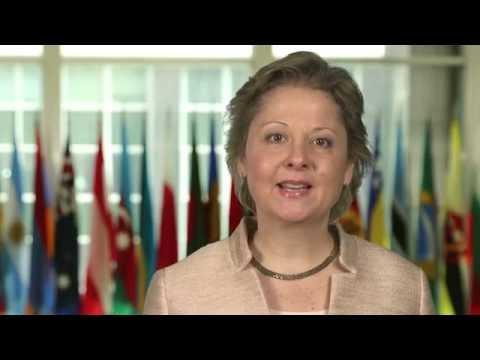 Ambassador Christine Elder Greets Liberia