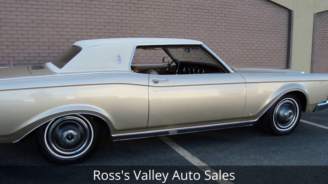 1969 Lincoln Continental Mark III - Ross\'s Valley Auto Sales - Boise ...