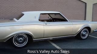 1969 Lincoln Continental Mark III - Ross's Valley Auto Sales - Boise, Idaho
