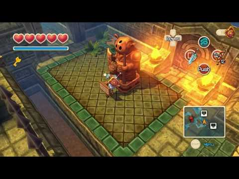Oceanhorn Vita Gameplay