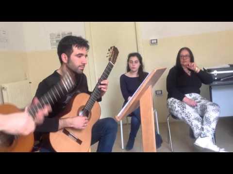 Una giornata con Giulio Tampalini al Conservatorio di musica Tchaikovsky di Nocera Terinese-CZ