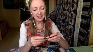 Лоскутный эфир 131 . Как сделать стежку одеяла?