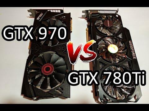 GTX 970 Vs GTX 780Ti - 1080p / Ultra - 2019